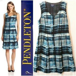 Pendleton Blue Plaid Laura Dress